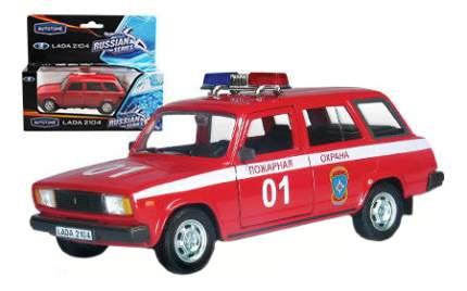 Коллекционная модель Autotime LADA 2104 Пожарная охрана 1:36