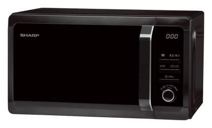 Микроволновая печь с грилем Sharp R-6852RK black