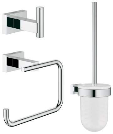 Набор аксессуаров для ванной Grohe Essentials Cube 3 предмета Хром
