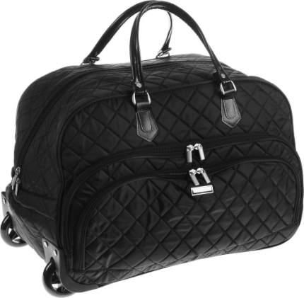 Дорожная сумка Polar 7050.1 черная 55 x 25 x 37