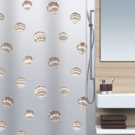 Штора для ванной Spirella Shell 1015239