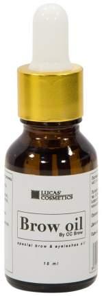 Средство для роста ресниц и бровей LUCAS' COSMETICS Brow Oil By CC Brow 15 мл