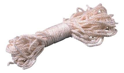 Веревка Зубр капроновая, d=6,0 мм, 20 м, 375 кгс, 12,5 ктекс
