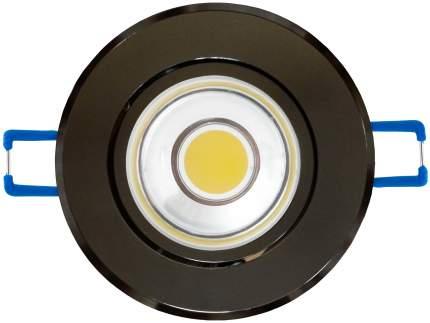 Встраиваемый светильник Uniel 4500K ULM-R31-5W/NW IP20 Black Chrome