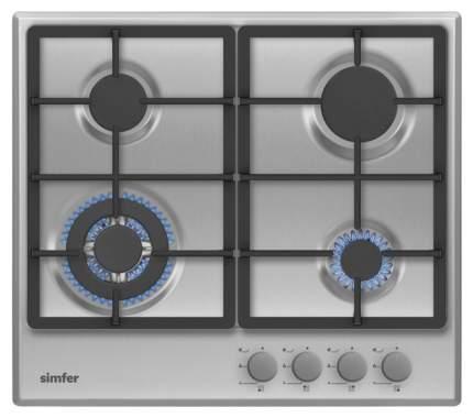 Встраиваемая варочная панель газовая Simfer H60V41M511 Silver
