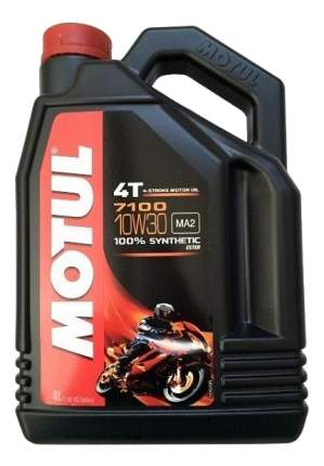 Моторное масло Motul 7100 4T 10W-30 4л