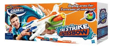 Водяное оружие Nerf Super Soaker Tri Strike Crossbow