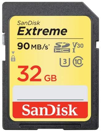 Карта памяти SanDisk Extreme SDHC SDSDXVE-032G-GNCIN 32GB