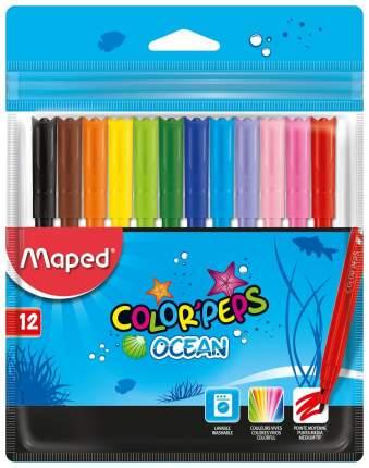 Набор фломастеров Maped Color Peps Ocean 12 цветов