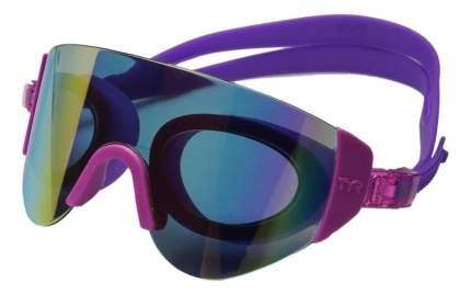 Очки-полумаска для плавания TYR Renegade Swimshades Mirrored 973 rainbow