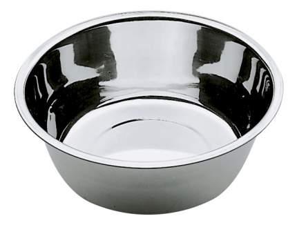 Одинарная миска для кошек и собак Ferplast, сталь, серебристый, 0.9 л