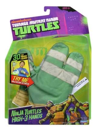 Перчатка супергероя Playmates Toy Черепашки Ниндзя. Бело-зеленая