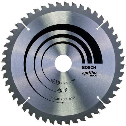 Диск по дереву Bosch STD WO 216x30-48T 2608640432