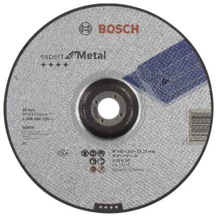 Диск отрезной абразивный Bosch МЕТАЛЛ 230Х3 ВОГН 2608600226