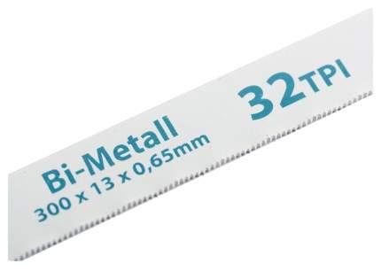 Полотна для ножовки по металлу GROSS 300 мм 32TPI BiM 2 шт 77728