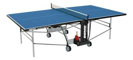 Теннисный стол Donic Outdoor Roller 1000 синий, с сеткой