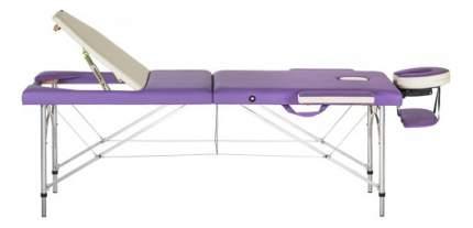 Массажный стол US Medica Tokyo фиолетовый/серый