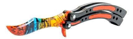 Игрушечный нож-бабочка MASKBRO Мраморный градиент