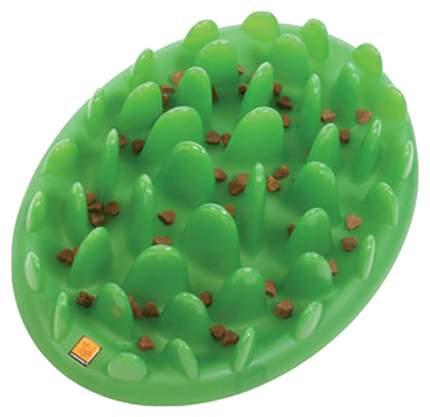 Интерактивная миска для собак Northmate, силикон, зеленый, 0.3 л