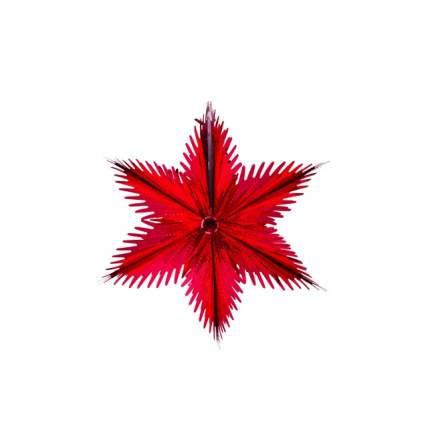 Звезда из фольги Holiday Classics Резная 30 см красная H121201R