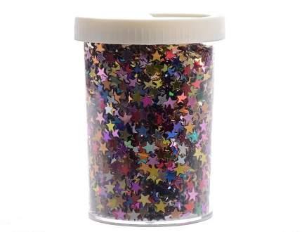 Kaemingk Декоративные блестки Звездочки 6.5 мм разноцветные 80 г 439569