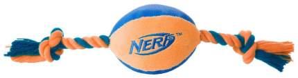 Грейфер для собак NERF Мяч плюшевый с веревками, длина 37.5 см