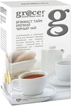 Чай черный Grace брэкфаст тайм крепкий 25 пакетиков