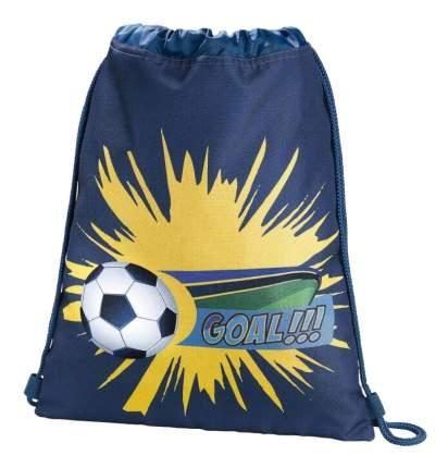 Мешок для обуви Hama Soccer синий/голубой 00139107