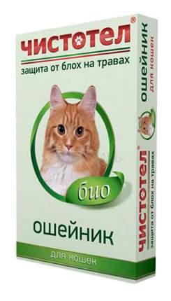 Ошейник Чистотел для кошек 35см 45761