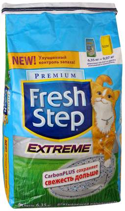 Наполнитель Fresh Step впитывающий 12 л 6.35 кг