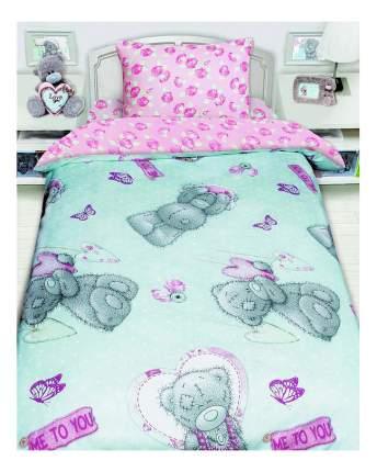 Постельное белье Мона Лиза MTY 1,5-спальное с подарком на бирюзовом