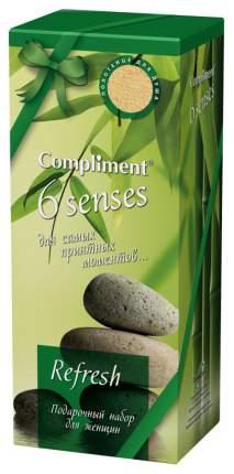 Подарочный набор Compliment №963 6 Senses Refresh гель для душа 400 мл, полотенце
