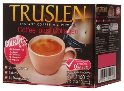 Кофейный напиток Truslen кофе плюс коллаген растворимый 16 г 10 штук