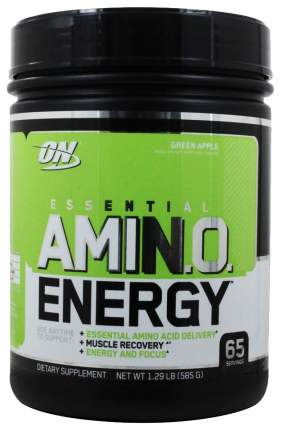 Essential Amino Energy Optimum Nutrition, 585 г, green apple