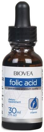 Фолиевая кислота BIOVEA Folic Acid Liquid Drops 1 ампула 30 мл