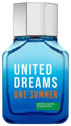 Туалетная вода Benetton United Dreams One Summer Spray 100 мл