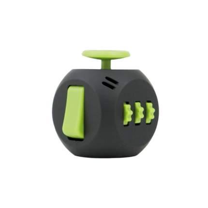Игрушка-антистресс Fidget Cube 3.0 Air Фиджет куб, черный и зеленый