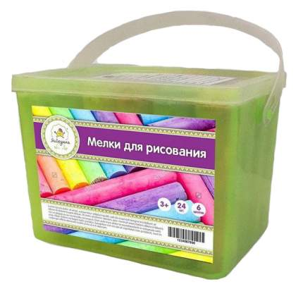 Цветные мелки Яигрушка толстый, 24 шт. пластиковая упаковка