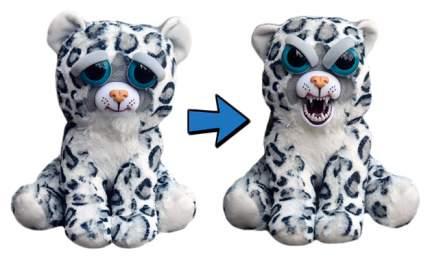 Мягкая игрушка ABtoys Леопард серый, Feisty pets, 22 см