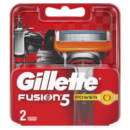 Сменные кассеты Gillette Fusion5 Power 2 шт