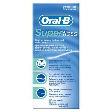 Зубная нить Oral-B SuperFloss