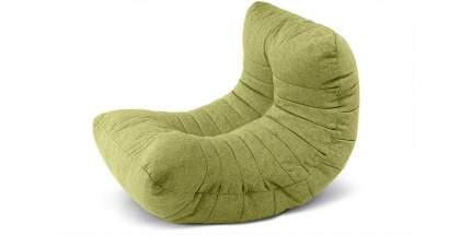 Кресло-мешок Divan.ru Кокон Grass, размер XL, рогожка, зеленый