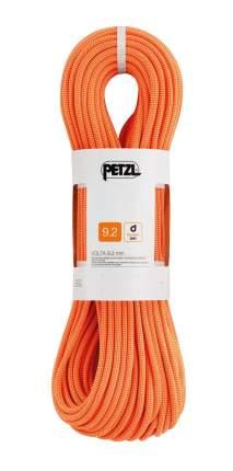 Веревка динамическая Petzl Volta 9,2 мм, оранжевая, 50 м