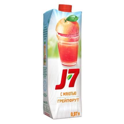 Нектар J7  грейпфрут 0.97 л