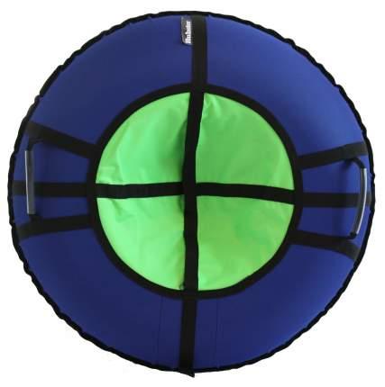 Тюбинг Hubster Ринг Хайп синий-салатовый 90 см