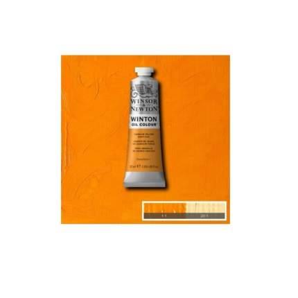Масляная краска Winsor&Newton Winton желтая охра 37 мл