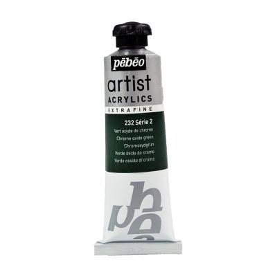 Акриловая краска Pebeo Artist Acrylics extra fine №2 оксид хрома зеленый 37 мл