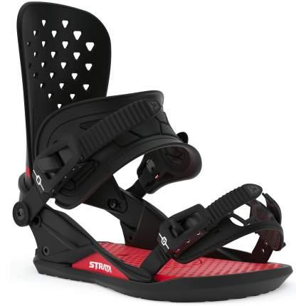 Крепления для сноуборда Union Strata 2020, черные, M