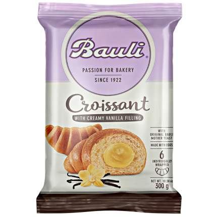 Круассаны Bauli ваниль 6*50 г