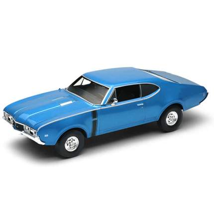 Коллекционная модель Welly Oldsmobile 442 1968 1:34 в ассортименте